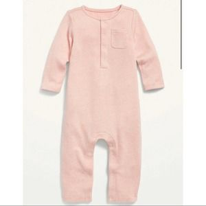 Old Navy Cozy Henley One-Piece
